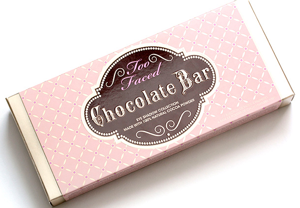 Too Faced Chocolate Bar box