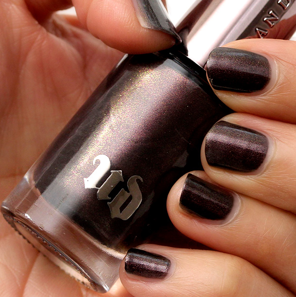 Urban Decay Blackheart Nail Color Swatch
