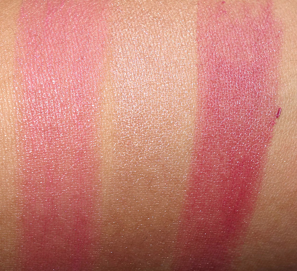 Bobbi Brown Nude Glow Collection Sheer Lip Color Swatches