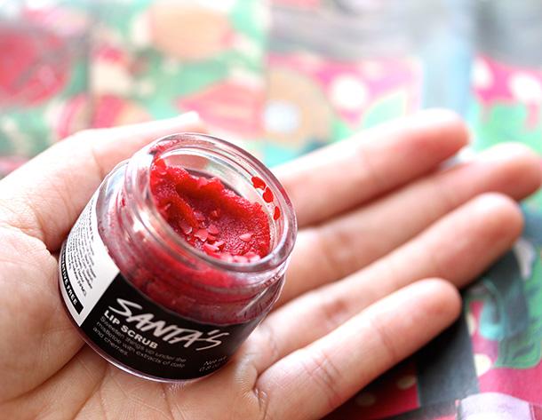 Lush Santa's Lip Scrub