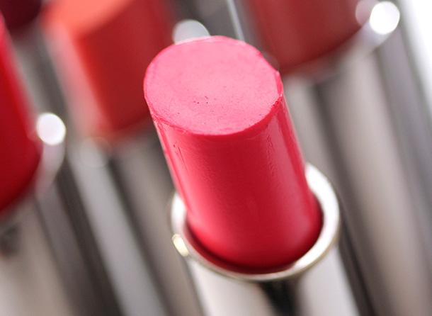 MAC Love Beam Huggable Lipcolour, a mid-tone warm pink with a cream finish