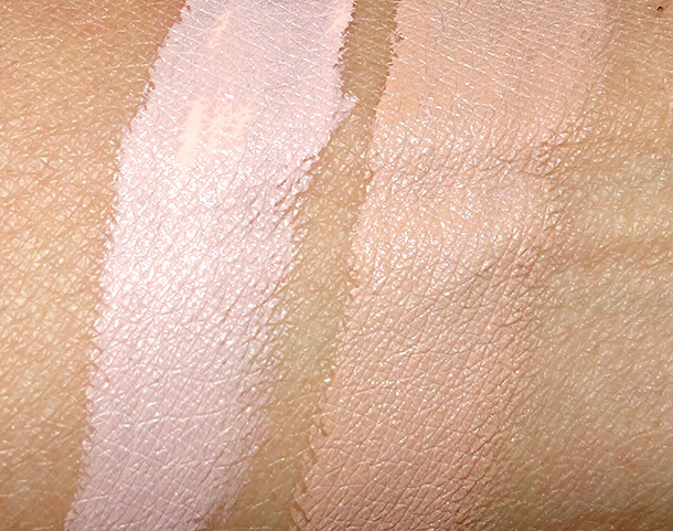 MAC Prep + Prime Highlighters in Radiant Rose (left) and Bright Forecast (right)
