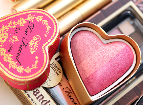 Too Faced Something About Berry Sweethearts Perfect Flush Blush