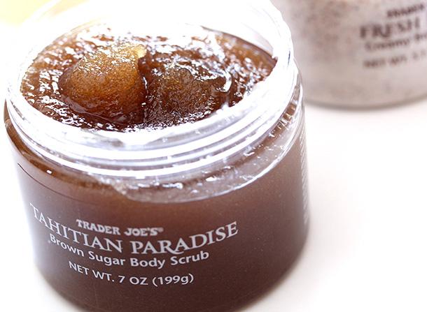 Trader Joe's Exfoliating Body Scrub Trio: Tahitian Paradise Brown Sugar Body Scrub Ingredients