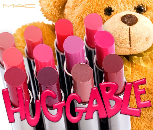 MAC Huggable Lipcolour Collection