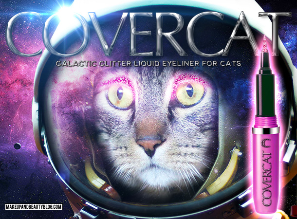 Tabs the Cat for CoverCat Galactic Glitter Kitty Eyeliner