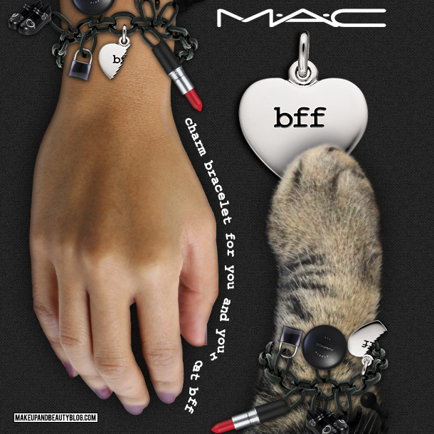 Tabs the Cat for the MAC BFF Charm Bracelet
