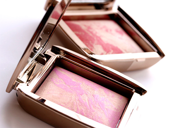 Hourglass Ambient Lighting Blushes in Radiant Magenta (left) and Diffused Heat (right)