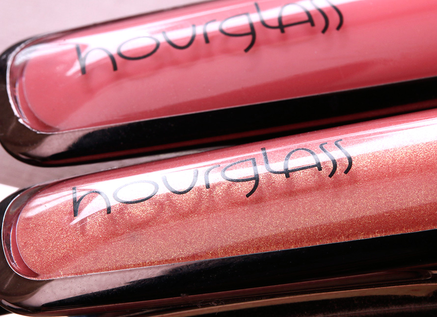 Hourglass Extreme Sheen Lip Gloss in Lush (bottom) and Origami (top)