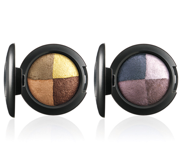 MAC A Fantasy of Flowers Mineralize Eye Shadows in Golden Hours (left) and Great Beyond (right)