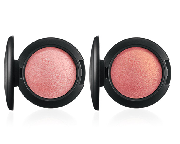 MAC A Fantasy of Flowers Mineralize Blushes in Azalea in the Afternoon (left) and Petal Power (right)