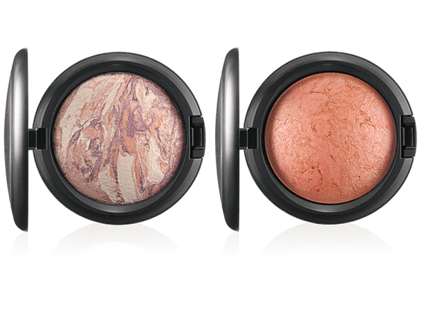 MAC A Fantasy of Flowers Mineralize Skinfinishes in Perfect Topping (left) and Stereo Rose (right)