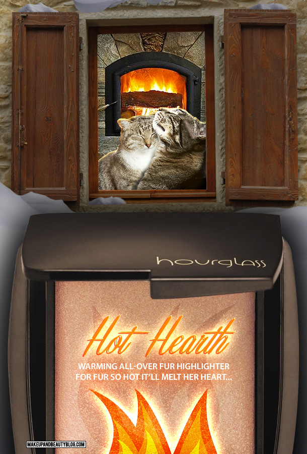 Tabs the Cat for Hourglass Hot Hearth Fur Highlighter