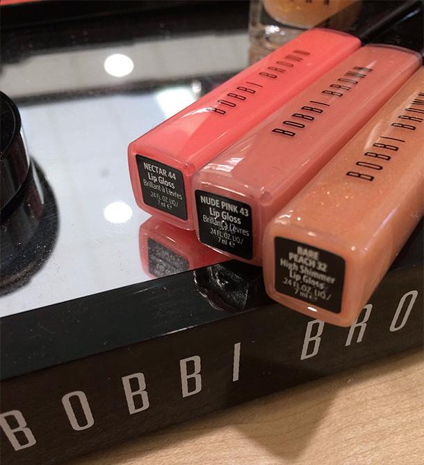 Bobbi Brown Nectar & Nude Lip Glosses