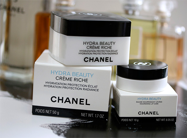 Chanel Hydra Beauty Creme Riche and Nourishing Lip Care