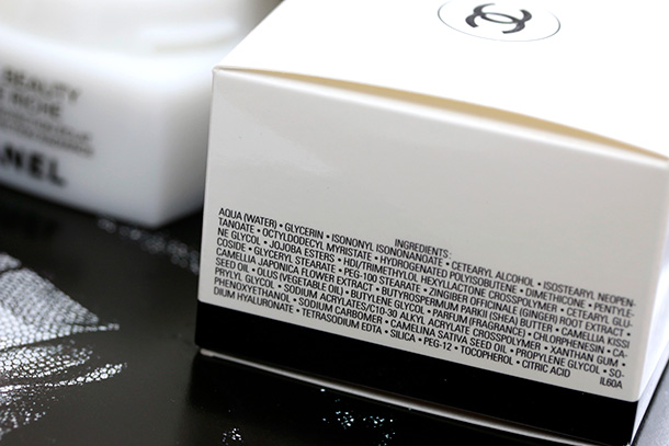 Chanel Hydra Beauty Creme Riche ingredients