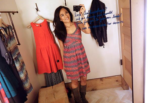 HD in Paris Cabernet Dress