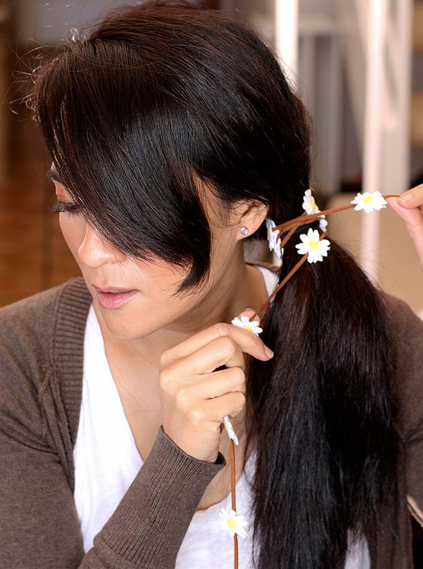 Kristin Perry Daisy Flower Braid In