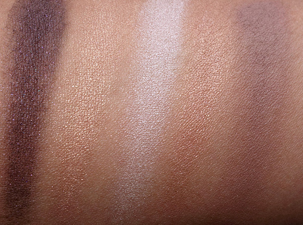 NYX Dream Catcher Palette in Dusk Til Dawn swatches