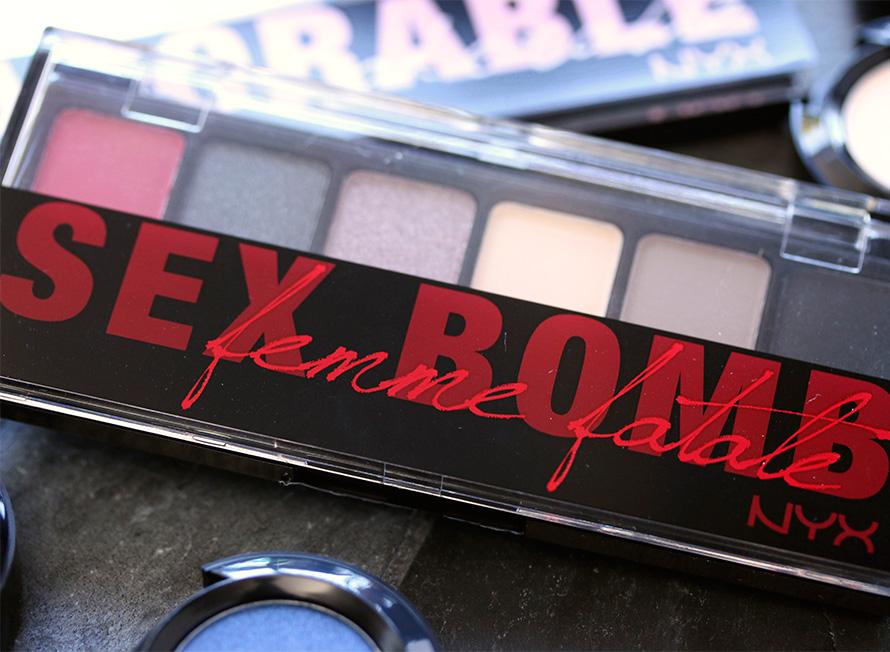 NYX Sex Bomb Shadow Palette