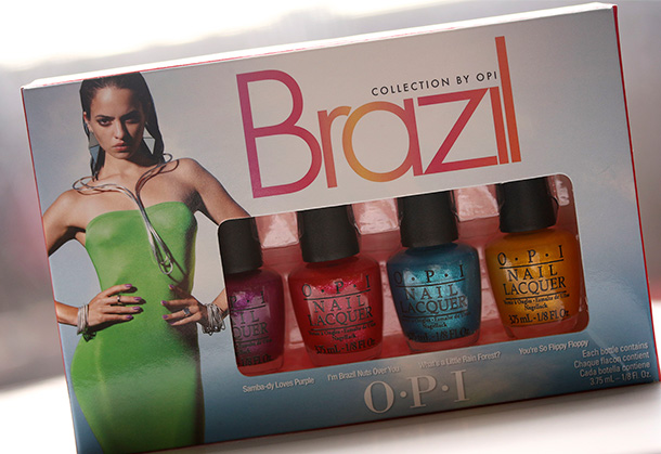OPI Brazil Beach Sandies Mini Kit