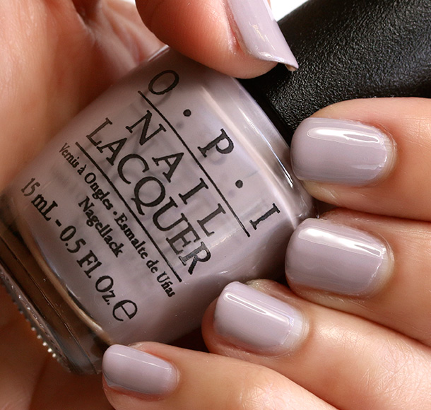 OPI Taupe-Less Beach, a creamy taupe