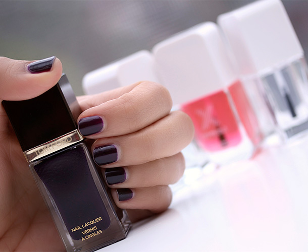 Sephora Formula X The System with Tom Ford Nail Lacquer in Viper