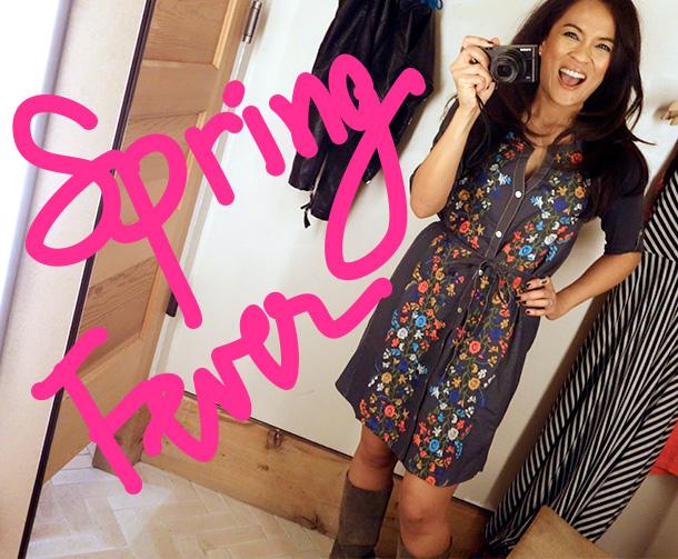 Spring fever, I haz it!