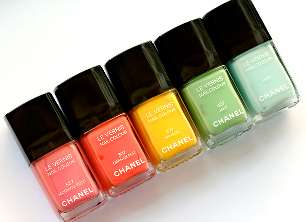 A Chanel Rainbow