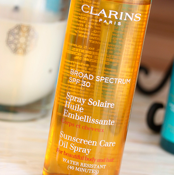 Clarins Sunscreen Spray Oil-Free Lotion SPF30
