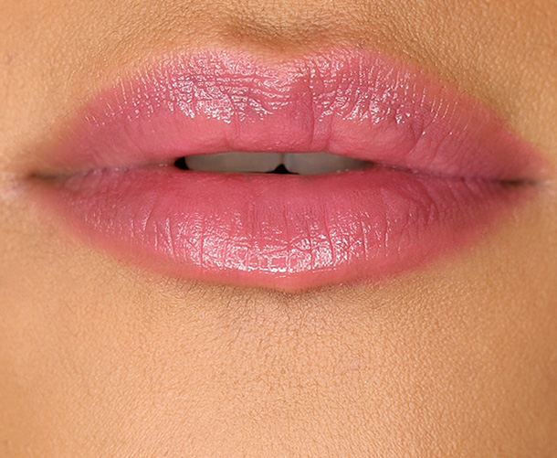 MAC Patentpolish Lip Pencil in Kittenish, a mauvey pink