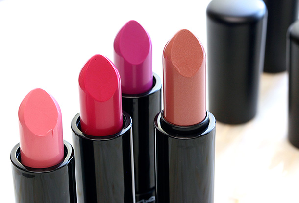 MAC Mineralize Lipsticks, $22 each