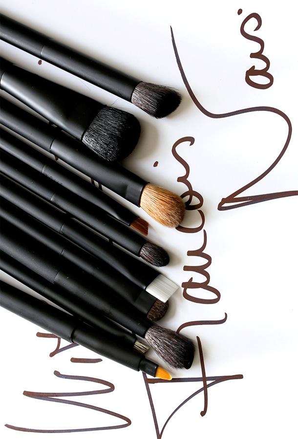 NARS Artistry Brushes Eye Lip Category