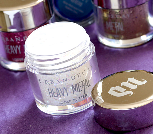 Urban Decay Pyrotechnics Heavy Metal Loose Glitter