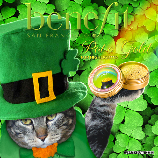 Tabs the Cat for Benefit Pot o' Gold Fur Highlighter
