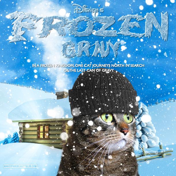 Tabs the Cat starring in Frozen Gravy