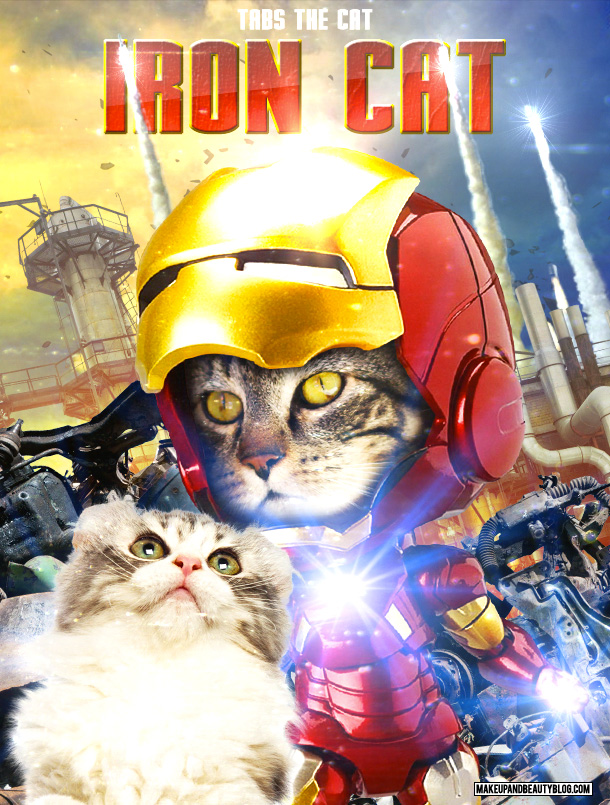 Tabs the Cat starring in Iron Cat