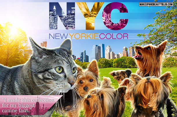 Tabs for the NYC New Yorkie Color Collection