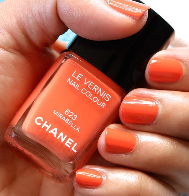 Chanel Mirabella swatch