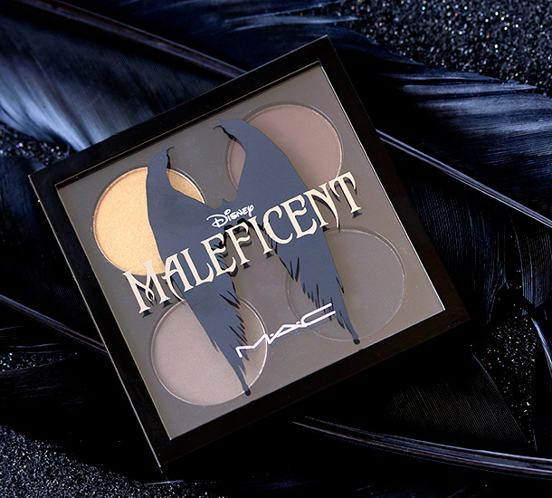 MAC Maleficent Eye Shadow X 4