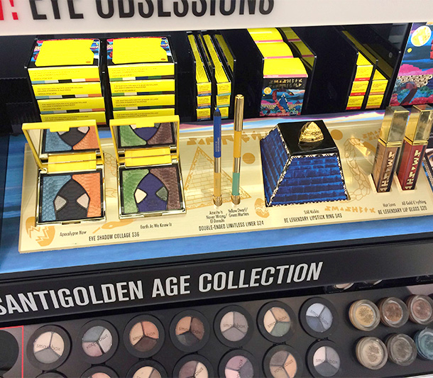 Smashbox Santigolden Age Collection
