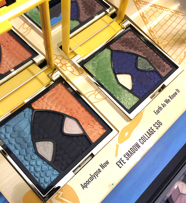 Smashbox Santigolden Age Collection Eye Shadow Collage