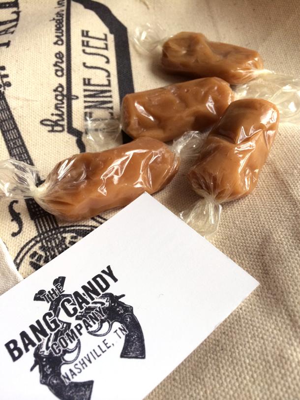 Bang Candy Company Caramels from Nashville, TN