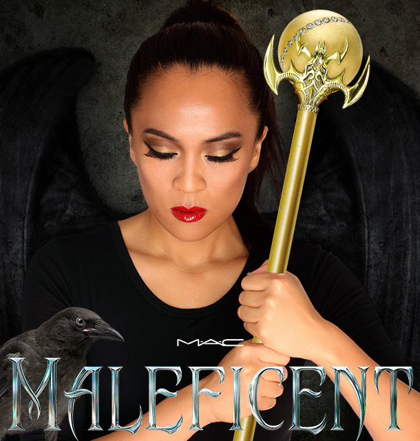 a451e731bca The MAC Maleficent Collection Conjures Crimson Kisses and Chiseled ...