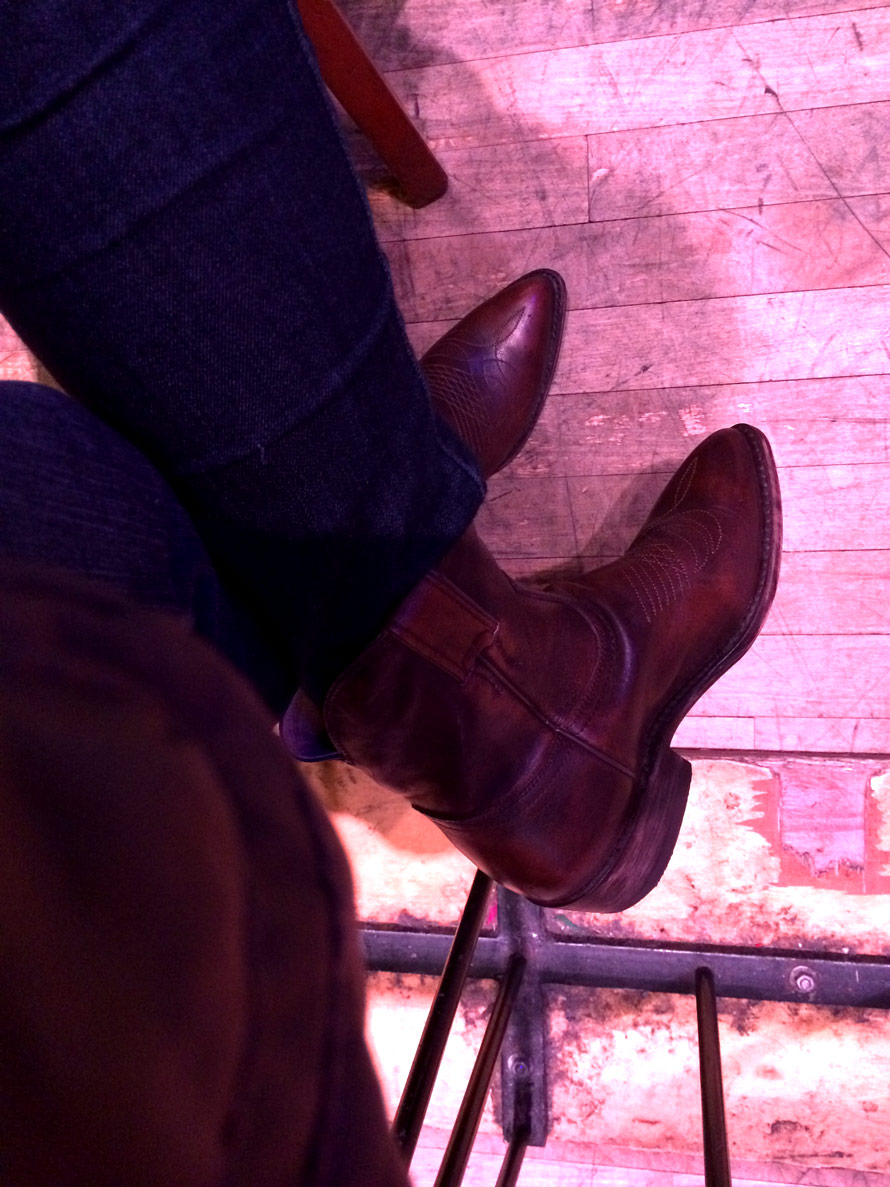 These boots were made for line dancing, and that's just what they'll do
