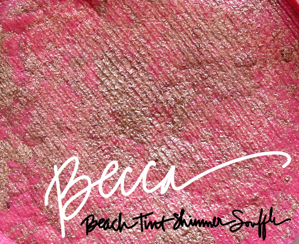 BECCA Beach Tint Shimmer Souffle in Lychee/Opal