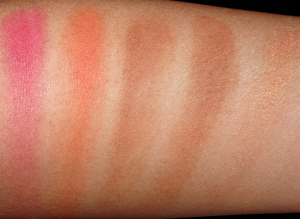 Guerlain Sun Celebration Swatches