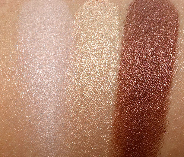 Lancome Azur Chic swatches