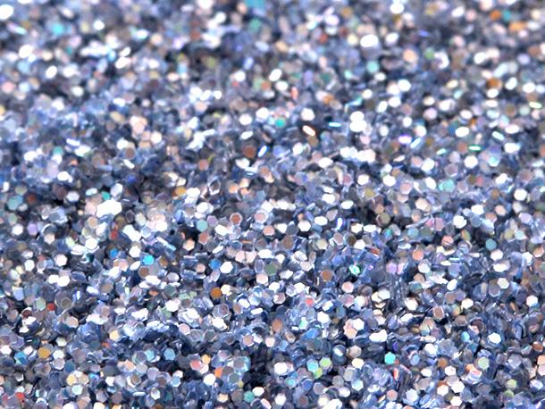 MAC 3D Platinum Glitter