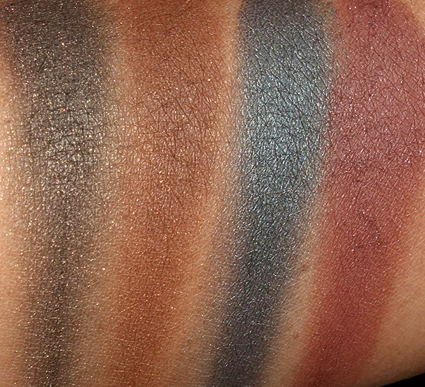 NYX Suede Palette Swatches